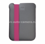 Неопреновый чехол для iPad mini / iPad mini 2 (retina) Acme Made Sleeve Skinny, цвет Grey/Pink (AM36605)
