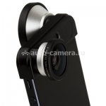 Объектив для iPhone 5 / 5S Photo lens ib-FMSW-5 3-in-one, цвет объектива металлик