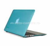 "Пластиковый чехол для Macbook Air 11"" Speck SeeThru Satin, цвет Peacock Blue (SPK-A1465)"