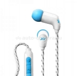 Водонепроницаемые наушники для iPhone и iPod X-1 Women's Momentum Ultra Light Headphones with MFi Control, цвет cyan (MM-IE1-CN)