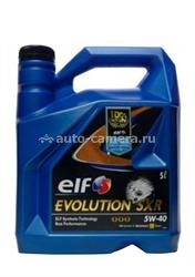 Масло Elf 5W-40 Evolution SXR 156813, 5л